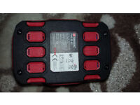 NEW Parkside X 20V PAP A1 battery + ChargerPLG 20 A1