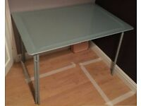 Frosted Glass Table FREE DELIVERY 526