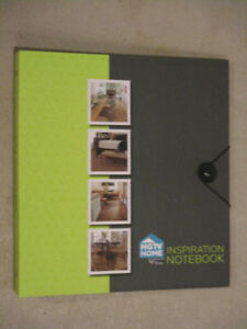 HGTV Inspiration Binder with dividers