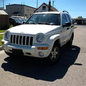 2004 Jeep Liberty Limited. Certified. Call 9054322277