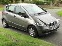 Mercedes A150 (2005) 5-door petrol automatic, new MOT, good as a first car