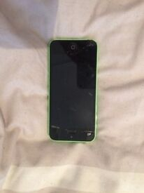 I phone5 c damadged