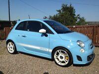 Fiat 500 Abarth 1.4 T-Jet 3dr **Blue**