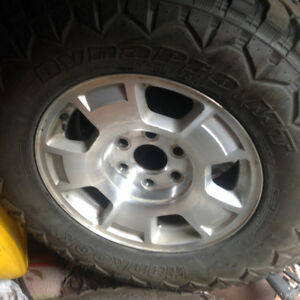 Great deal on newer tires and rims