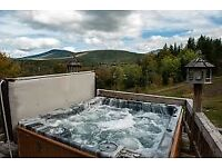 Hot tub service and repair