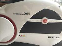 Ergometer X3 exercise bike by Kettler