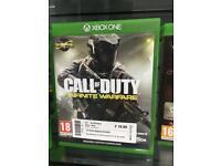 Xbox One Game- call of duty COD Infinite Warfare