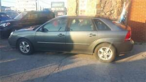 2005 MALIBU MAXX LS V6 - POWER ROOF, ONLY 159,000 KMS -CERT/EMIS