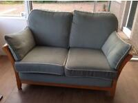 Beautiful Ercol style 2 seater sofa