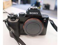 Near Mint Sony A7R 36.4 MP Camera - 2317 actuations. First hand seller
