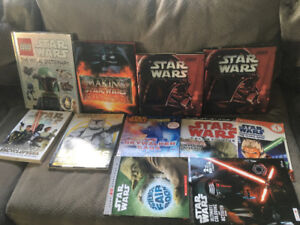 Star Wars books.  For that big fan
