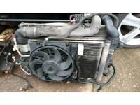 Vauxhall Zafira 1.9 CDTi radiator pack
