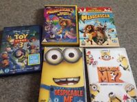 Kids DVDs bundle immaculate