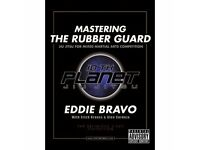 EDDIE BRAVO 10th planet RUBBER GUARD dvds - postage paypal - bjj brazilian jiu jitsu training