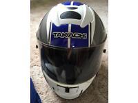 Takachi motorbike helmet sized extra large