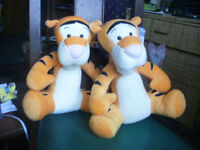 tigger soft toys new with tags