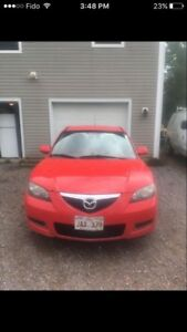 2007 Mazda 3 with hitch!