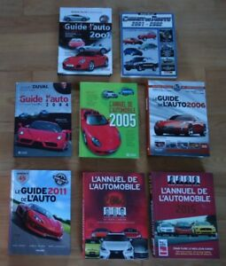 GUIDE DE L'AUTO, IMPECCABLE, 2001, 2004, 2006, 2011, ETC....