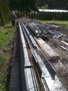 Galvanized C Sections
