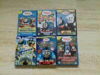 6 Thomas the tank engine DVD's