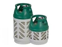 EMPTY BP Gaslight 10kg**OR** 5kg Propane gas bottle/cylinder - with REGULATOR *BBQ,Camping,Caravan