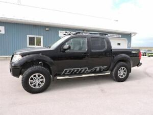 2014 Nissan Frontier PRO-4X, LEATHER, NAVIGATION, SUNROOF, LOADE