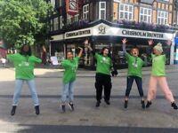 Roaming Street & Private Site Fundraiser - immediate start - £296-£441 P/W basic + bonuses