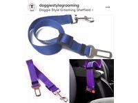 Brand new dog seatbelts