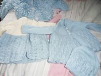 new hand knitted baby jackets