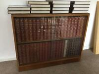 Encyclopaedia Britannica with bespoke cabinet
