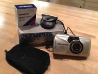 Olympus mju II camera