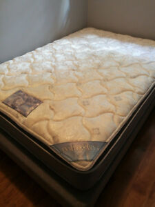 Selling my double sized bed, with mattress frame and mattress.