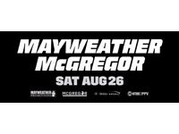 Floyd Mayweather Jr vs. Conor McGregor tickets - Saturday 26th August 2017 - Las Vegas