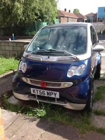 Leather heated seats smart car