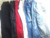Job lot of size 6/8 skinny jeans