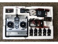 Futaba RipMax Challenger FP-6NL 6 Channel Radio Control Kit including 6 Servos and more. Bargain!