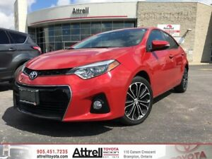 2015 Toyota Corolla S Technology Package. Smart Key, Navigation,