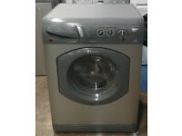 C114 Graphite Hotpoint 5kg & 5kg 1400Spin Washer Dryer, Comes With Warranty & Can Be Delivered
