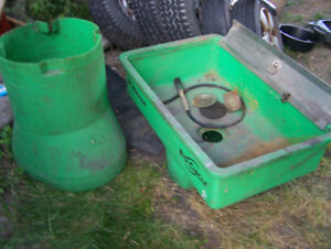 PARTS WASHER TUB AND BASE