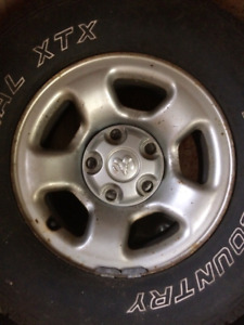 *Reduced* 4 , 15 inch,5 stud Dodge tire rims