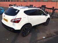 Nissan qashqai N-TEC+ 1.6 petrol White