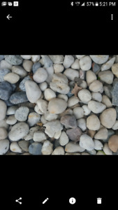 1 1/2 to 2 inch river rock for sale .