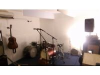 Music Rehearsal Room share in Manor House - Band/drummers/musicians wanted