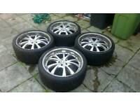 22 Inch Range Rover Alloy wheels