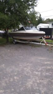 Doral boat with 70hp johnson motor