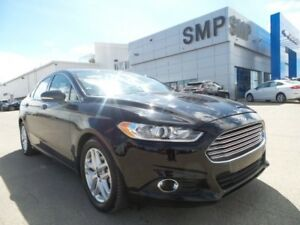 2016 Ford Fusion SE FWD, Nav, power seat, leather, sunroof, allo