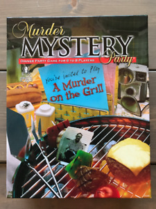 Murder Mystery Party Game for 6-8 players