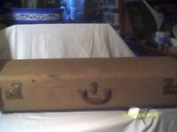 A TROMBONE CASE , GOOD CATCHES & HANDLE & INTERIOR in V.G.C. OUTSIDE Is O.K.+++