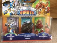 Brand new in packaging Skylanders Giants battle pack.