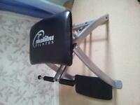 Malibu Pilates chair with 2 DVD's in excellent condition.